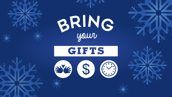 Bring your gifts titleslide